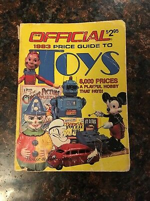 Vintage - 1983 - Official Price Guide to Toys - The House of Collectables