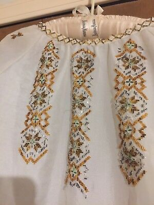 Hand-beaded Blouse from the Ukraine