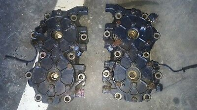 90hp 115hp Evinrude johnson outboard motor cylinder heads