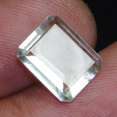 100% NATURAL WONDERFUL FACETED GREEN Amethyst Loose Gemstone XQ318