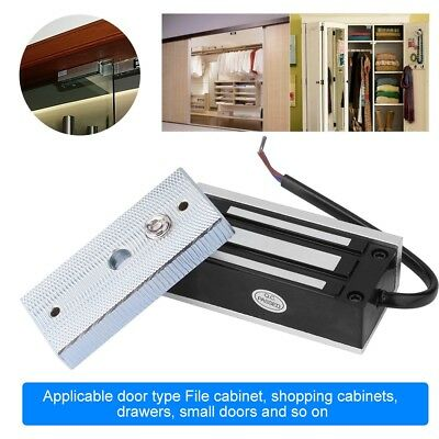 Electric Magnetic Door Lock Strong Force Access Control for Door Cabinet Drawer