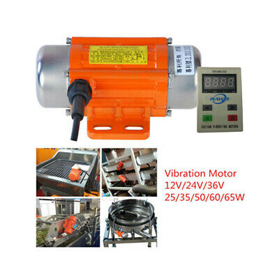 Vibrating Vibration Motor DC Brushless W/ Variable Speed Controller Display IP65