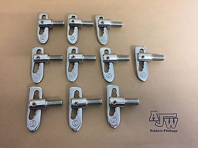 20 x Stainless Steel M12 x 25mm Anti Luce Fastener Drop Lock Trailer Truck Boat