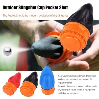 New Pocket Shot Target and Arrow Shooting Fun Catapult Shot Powerful Hunting G4