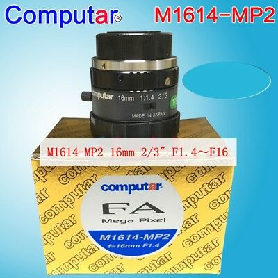 1PC Computar M1614-MP2 1.5Megapixel 16mm Fixed focus industrial lens#SS