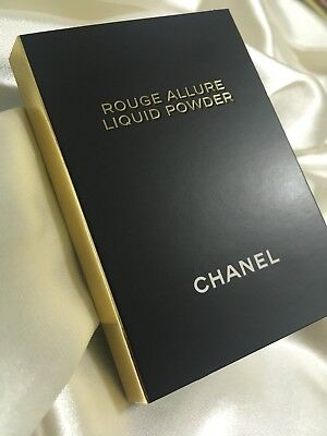 Chanel Rouge Allure Liquid Powder Lip Colour Sample Card New & Authentic