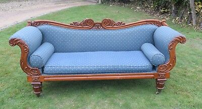 William IV Mahogany Sofa