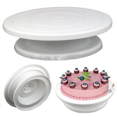 Cake Turntable Baking Stand Making Cake Decorating Rotating Platform 28*7cm