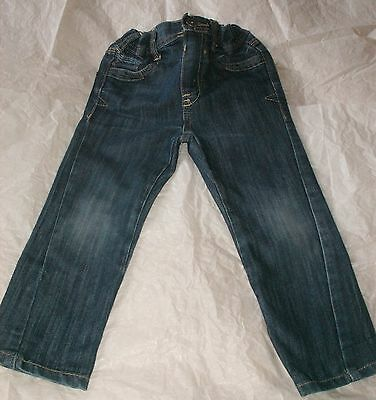 Boys Twisted Slim Fit Jeans Age 2 - 3 Years By Cherokee