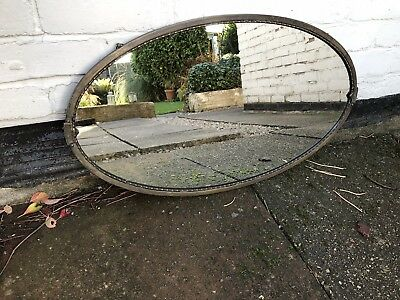 Gold Framed Antique Mirror Art Deco Mirror Crested Mirror 1920s Mirror Ornate