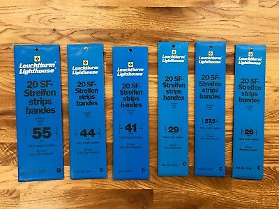 LIGHTHOUSE black stamp mounts 26, 27.5, 29, 33, 35, 41, 44, 55 **NEW**