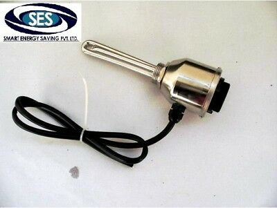 48 VOLT 800 Watt Submersible DC Water Heating Element with Adjustable Thermostat