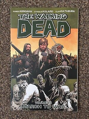 The Walking Dead vol volume 19 graphic novel - March to War