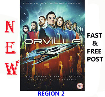 The Orville Season 1 DVD 2018 New UK Region 2 Fast & Free Same Day Dispatch