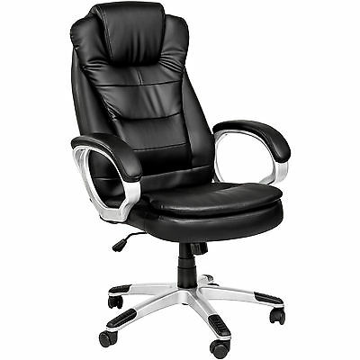 High Quality Executive High Back Office Chair with Double Padding Black