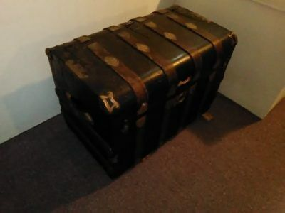 Antique Monitor Top Trunk