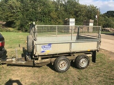 IFOR WILLIAMS TT85 ELECTRIC TIPPING TRAILER - 8ft x 5ft - KENT
