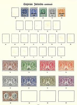 Cayman Islands stamps Collection of 14 CLASSIC stamps HIGH VALUE!