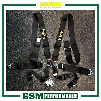 Pair of Schroth Profi 3x3 FIA 6 Point Harness Belts