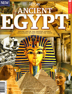 All About History Book of Ancient Egypt NEW Pharaohs Pyramids Hieroglyphics