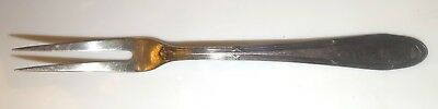 Vintage Antique Silver Plated Seafood Fork