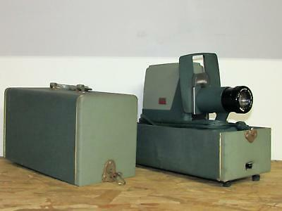 Vintage 1960'S Argus Pbb300 Automatic Slide Changer Projector Made Usa In Case