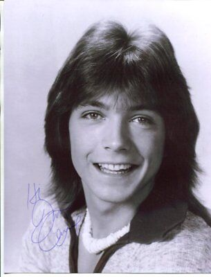 partridge family David Cassidy signed autograph B6517