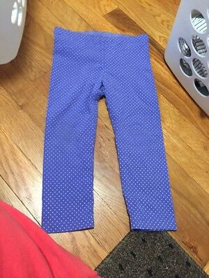 tea collection girls size 6 Crop Leggings