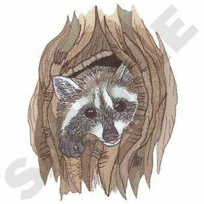 """Raccoon Embroidered Patch 5.2"""" x 7"""""""