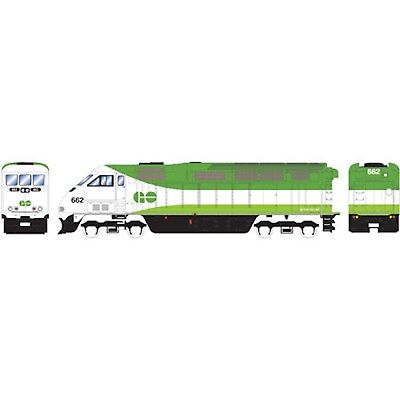 Athearn GO Transit F59PHI #665 - N Scale - DC