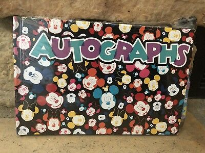 DISNEY Store AUTOGRAPH Book MICKEY and MINNIE MOUSE (Sealed) w/Pen 2017 NEW