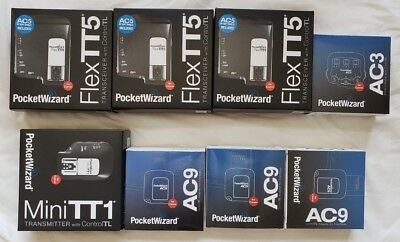 PocketWizard set for Canon AC3, AC9, FlexTT5, MiniTT1 and MORE