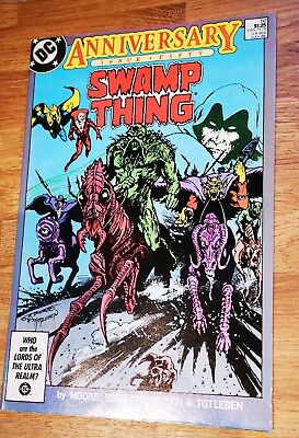 SWAMP THING 50 NM- COND. July 1986. DC. ALAN MOORE / BISSETTE DOUBLE SIZED ISDUE
