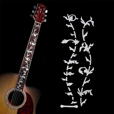 Electric Acoustic Guitar Stickers Bass Inlay Decal Ultra Thin Fretboard Sticker