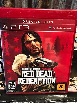 Red Dead Redemption Sony PlayStation 3 New factory sealed greatest hits Red Box