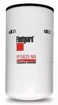 Fleetguard FF5825NN NanoNet Fuel Filter Cummins 2017 X15 FF5686 FF5776 5365988