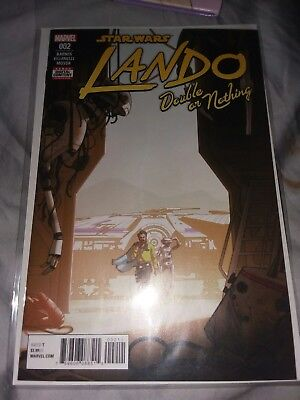 Star Wars Lando Double Or Nothing #2 2018 Marvel Comics Nm
