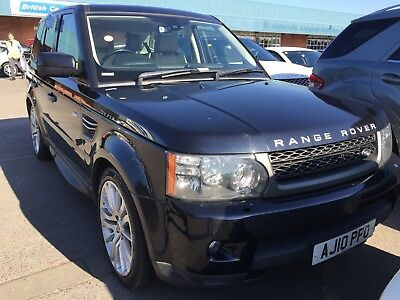 2010 Range Rover Sport 3.0 Tdv6 Se Auto Black *7 Services & Mar 19 Mot* Leather!