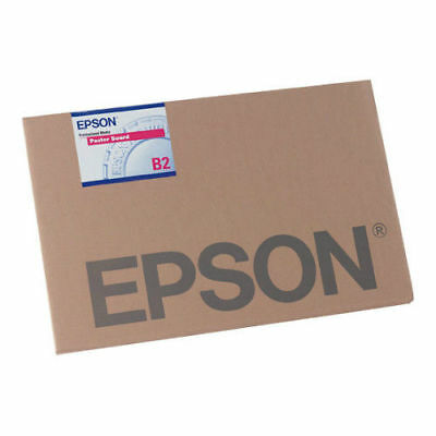 "Epson S041599 Enhanced Matte Posterboard - 30"" x 40"" Sheet Size - Rigid Board"