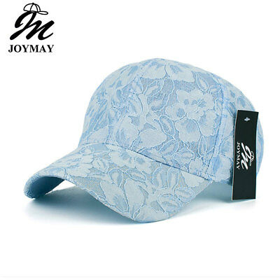 68befca5c79 JOYMAY high quality summer fashion snapback cap lace jacquard for women  baseball