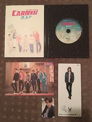 KPOP // B.A.P Carnival Special Ver includes Youngjae PC + Zelo Standee OOP/RARE
