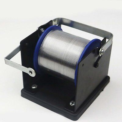 Metal Solder Dispenser Wire Spool Holder Metal Stand for Welding Soldering#UKO