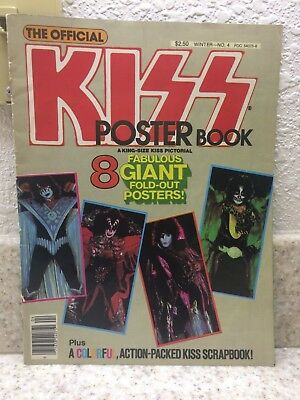 Vintage 1979 The Official Kiss poster book / Magazine!
