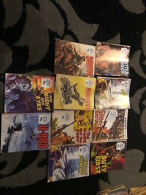 10 X War Picture Library Mags A