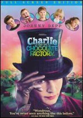 Charlie and the Chocolate Factory [P&S] by Tim Burton: Used