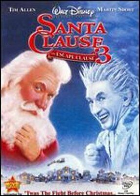 The Santa Clause 3: The Escape Clause by Michael Lembeck: New