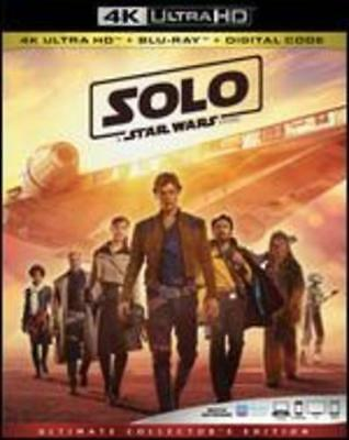 Solo: A Star Wars Story [4K Ultra HD Blu-ray/Blu-ray] by Ron Howard: Used