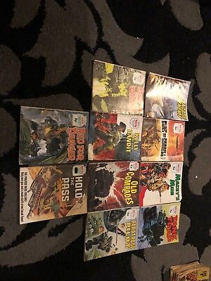 10 X Mix Battle & War Picture Library Mags