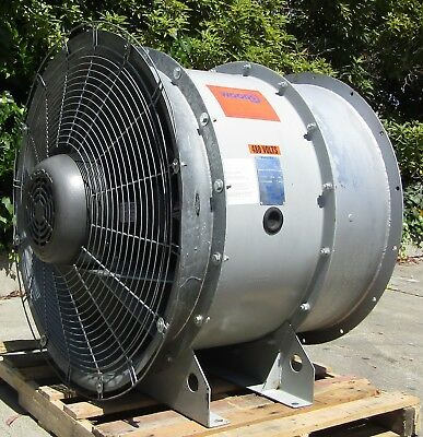 "American Fan Co. Woods 20hp Axial Exhaust Ventilation Fan Blower 35"" Diameter"