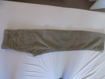 boys beige cords from TU age 12 years